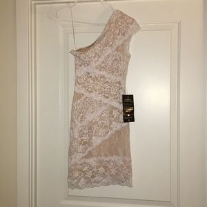 Bebe Lace Cocktail Dress NWT